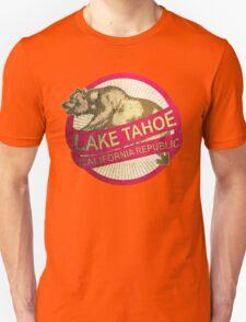 Lake Tahoe California vintage bear Unisex T-Shirt