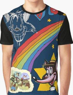 The Dark Side of the Fox Graphic T-Shirt