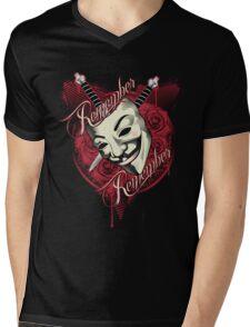 Remember Remember Mens V-Neck T-Shirt
