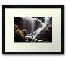 Unknown Waterfall Framed Print