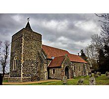 St Michael, Stratton St Michael Photographic Print