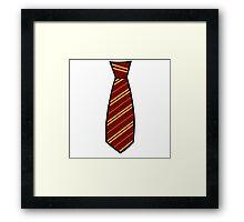 Gryffindor-Tie Framed Print