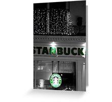Starbucks Greeting Card