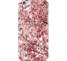Dreamy red iPhone Case/Skin