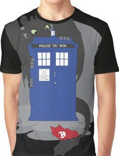 Toothless TARDIS Graphic T-Shirt