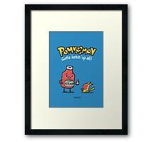 Pommesmon - Gotta ketchup all Framed Print