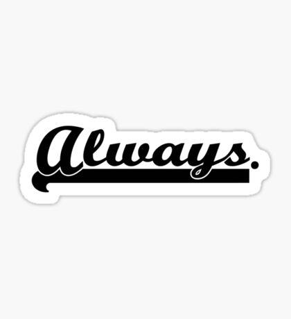 Castle&Beckett - Always Sticker