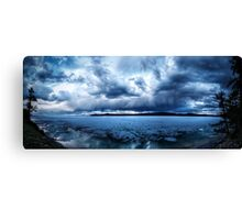 Lake Khovsgol Under The Clouds Canvas Print