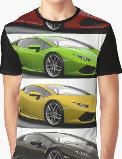 Four Lambo Graphic T-Shirt