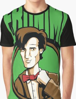 Time Travelers, Series 2 - The 11th Doctor (Alternate 2) Graphic T-Shirt