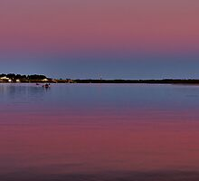 How the Sky Goes at Dusk by jimcrotty
