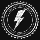 Harry Potter Lightning Seal White by Elle Campbell