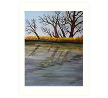 Rivers Edge Art Print