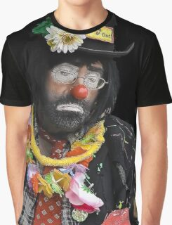 Clown Portrait Graphic T-Shirt