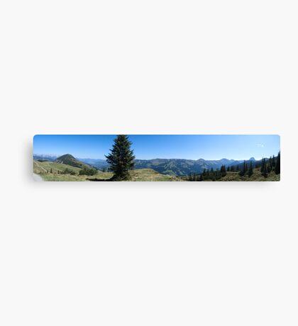 Tiroler Berge Canvas Print