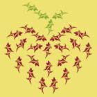 Heart Puppy Berry by unicadee