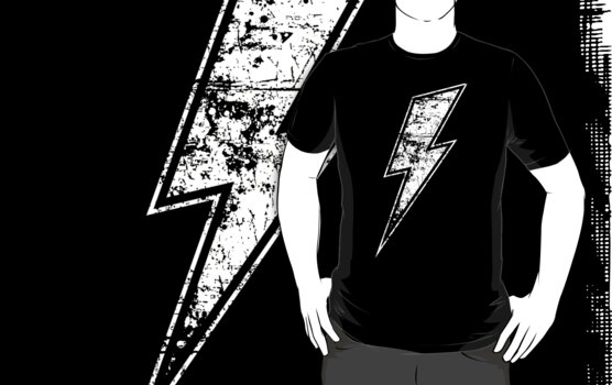 Harry Potter Lightning Bolt by Elle Campbell
