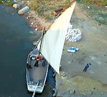 Felucca Boat on Nile by Valgal212