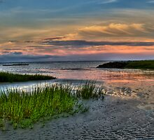 September Beach by jimcrotty
