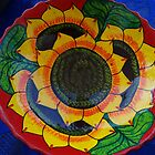 Bowl Painted by Hand - Fuente Pintada a Mano by PtoVallartaMex