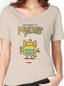 Look behind you, a three-headed mustard! Women's Relaxed Fit T-Shirt