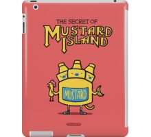 Look behind you, a three-headed mustard! iPad Case/Skin