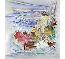 Jesus Calms the Storm Photographic Print