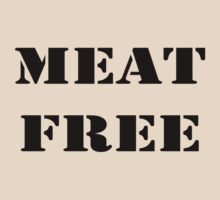 MEAT FREE by veganese