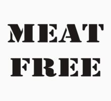 MEAT FREE One Piece - Short Sleeve