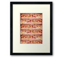 NORMAN WALL PAINTING Framed Print