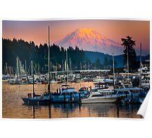Gig Harbor Sunset Poster