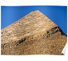 Top of Pyramid of Khafre Poster