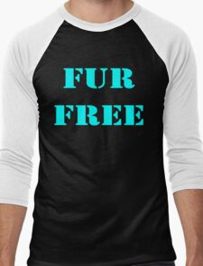FUR FREE Men's Baseball ¾ T-Shirt