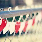 string of hearts by beverlylefevre