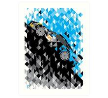 Patrick Dempsey Proton Racing Porsche 911 RSR WEC 2015 Art Print