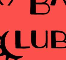 Cry Baby Club Sticker