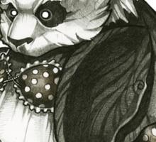 Panda's Day Off Sticker