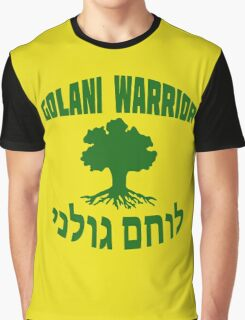 Israel Defense Forces - Golani Warrior Graphic T-Shirt