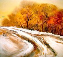The First Thaw by ©Janis Zroback