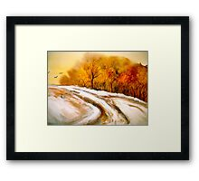 The First Thaw Framed Print