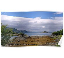 Isle of Eigg from Arisaig Poster