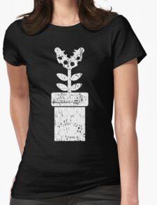 Mario Piranha Plant Womens Fitted T-Shirt