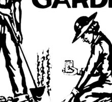 Save Money the Easy Way. Grow a Garden. Plant To-Day! Sticker