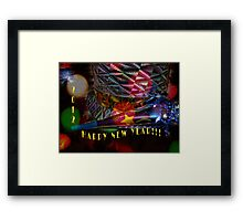 HAPPY NEW YEAR 2012!!! Framed Print