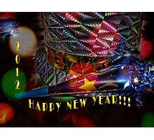 HAPPY NEW YEAR 2012!!! Photographic Print