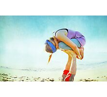 Elevated Child Pose  Photographic Print