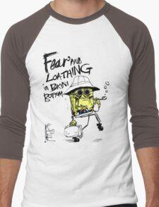Fear and Loathing in Bikini Bottom Men's Baseball ¾ T-Shirt