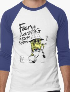 Fear and Loathing in Bikini Bottom Men's Baseball ¾ T-Shirt