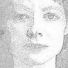 Jodie Foster by Adzee
