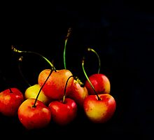 Rainier Cherries by JEZ22
